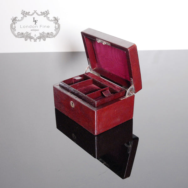 Vintage '30s Jewellery Box - London Fine Antiques - 6