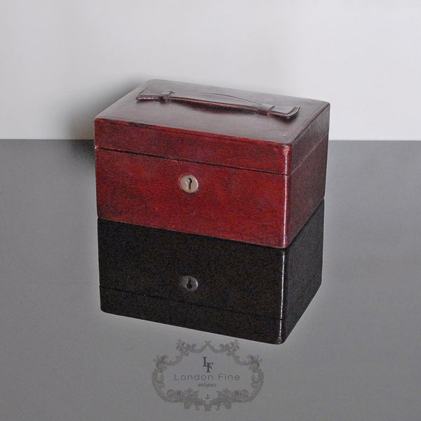 Vintage '30s Jewellery Box - London Fine Antiques - 2