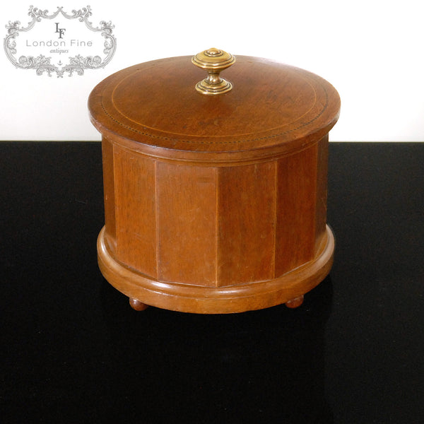 Edwardian Tobacco Jar - London Fine Antiques