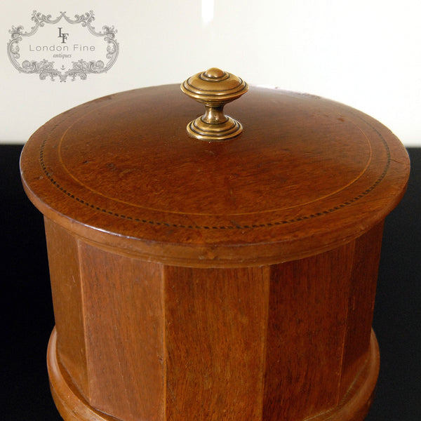 Edwardian Tobacco Jar - London Fine Antiques - 4