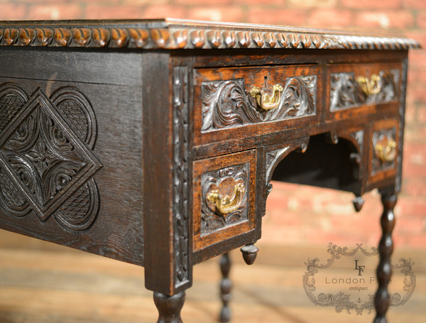 Victorian Lowboy - London Fine Antiques - 7