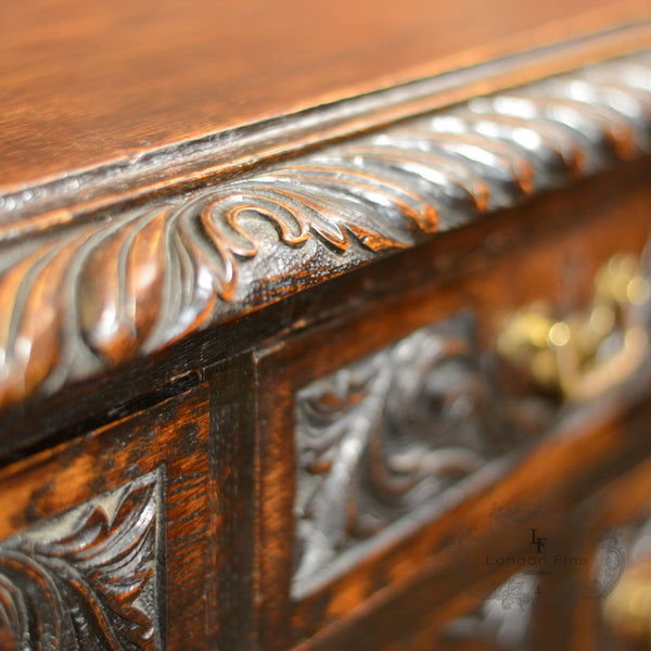 Victorian Lowboy - London Fine Antiques - 6