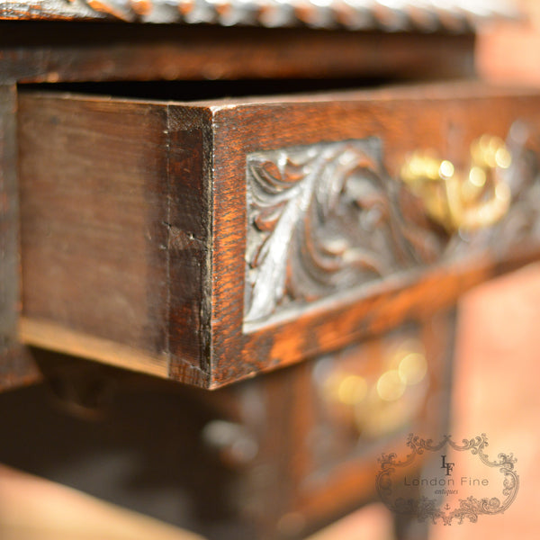 Victorian Lowboy - London Fine Antiques - 4