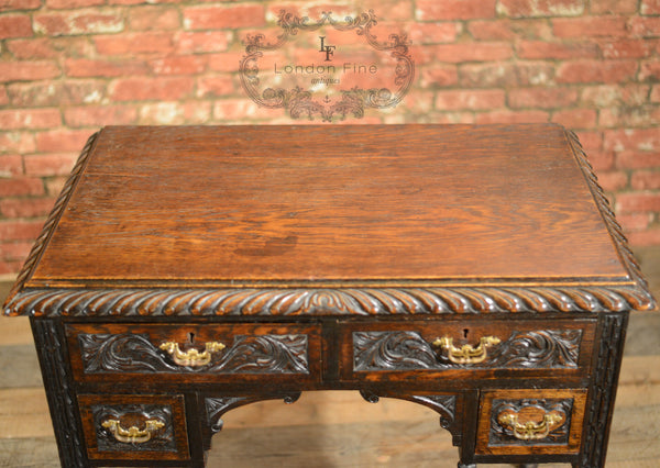Victorian Lowboy - London Fine Antiques - 2