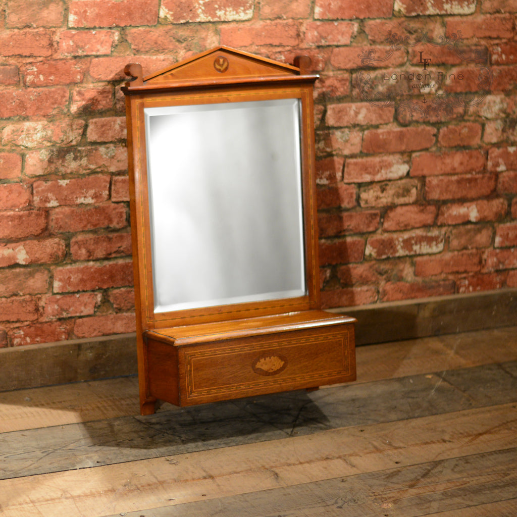 Edwardian Wall Mirror - London Fine Antiques