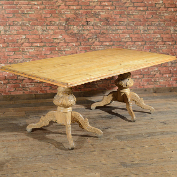Victorian Dining Table - London Fine Antiques - 7