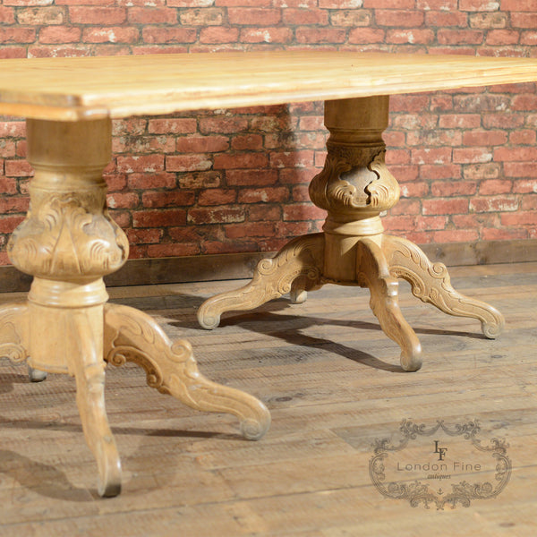 Victorian Dining Table - London Fine Antiques - 6