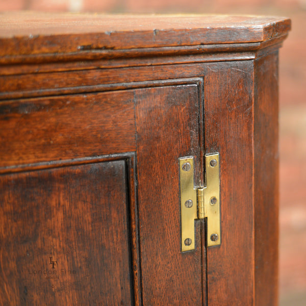 Georgian Corner Cabinet - London Fine Antiques - 7