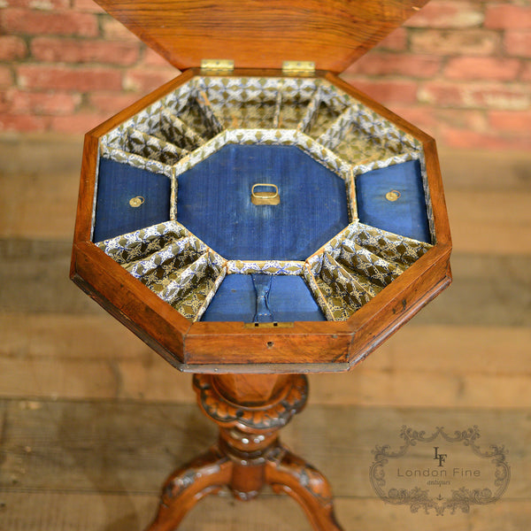 Victorian Sewing Box - London Fine Antiques - 8