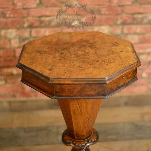 Victorian Sewing Box - London Fine Antiques - 3