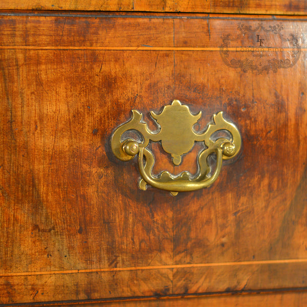 Georgian Chest of Drawers - London Fine Antiques - 3