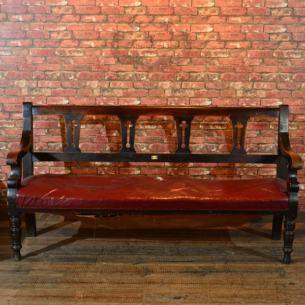 Victorian Pair of Snooker Benches, c.1880 - London Fine Antiques - 4