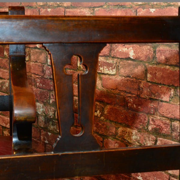 Victorian Pair of Snooker Benches, c.1880 - London Fine Antiques - 6