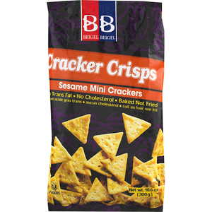 Beigal Beigal Sesame Cracker Crisps