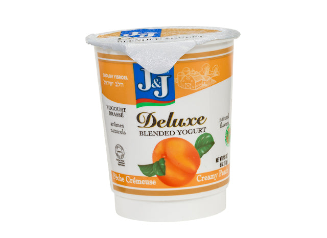 J&J Yogurt Deluxe - Peach