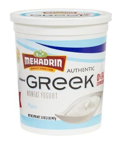 Mehadrin Greek Yogurt Large - Plain