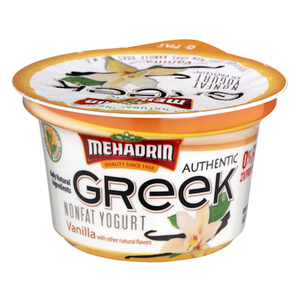 Mehadrin Greek Yogurt - Vanilla