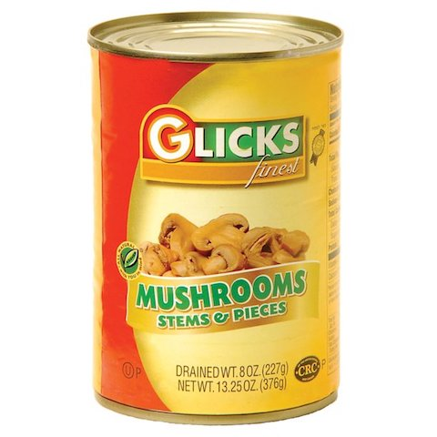 Glick's Mushrooms Pieces and Stem