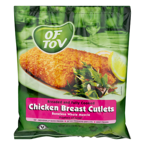 Of Tov Chicken Bread Cutlets