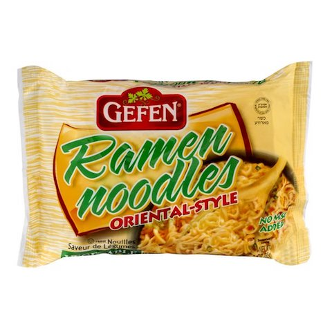 Gefen Ramen Noodles Vegetable Flavor