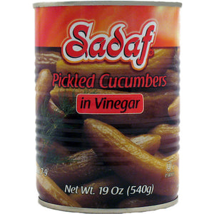 Sadaf Pickled Cucumbers in Vinegar