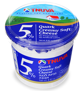 Tnuva Creamy Soft Cheese 5%