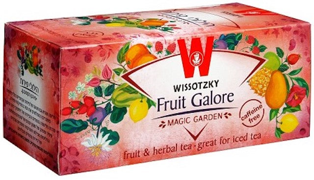 Wissotsky Fruit Galore Tea - Caffeine Free