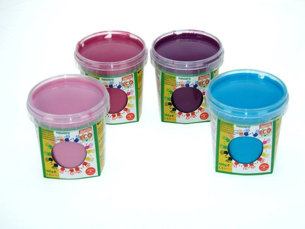 nawaro Natural Finger Paint - 4 colors