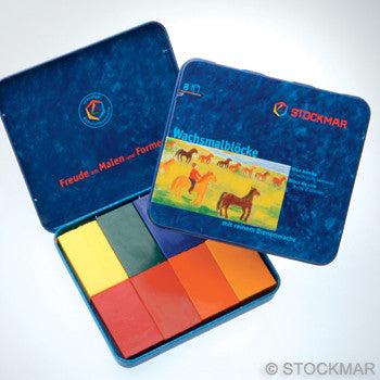 Stockmar Wax Blocks - 8 Colors @ 大樹孩子生活館             Tree Children's Lodge, Hong Kong - 2