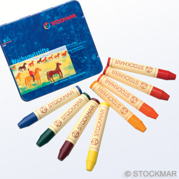 Stockmar Wax Crayons - 8 Colors @ 大樹孩子生活館             Tree Children's Lodge, Hong Kong - 1
