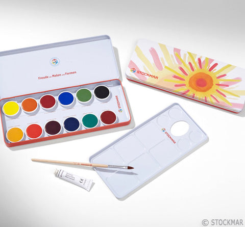 Stockmar Gouache Paint - Set of 12 opaque colors @ 大樹孩子生活館             Tree Children's Lodge, Hong Kong - 1