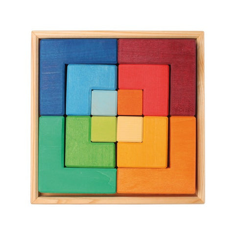 Square Puzzle, Medium @ 大樹孩子生活館             Tree Children's Lodge, Hong Kong - 1