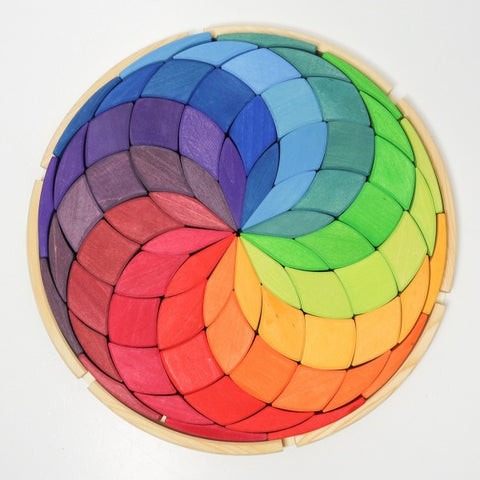 Large Color Spiral