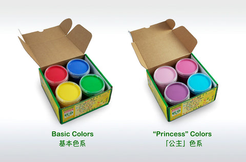 nawaro Natural Finger Paint - 4 colors @ 大樹孩子生活館             Tree Children's Lodge, Hong Kong - 1