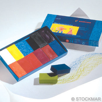 Stockmar Wax Blocks - 12 Colors @ 大樹孩子生活館             Tree Children's Lodge, Hong Kong - 1