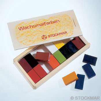 Stockmar wax blocks - 16 colors in wooden box @ 大樹孩子生活館             Tree Children's Lodge, Hong Kong - 1