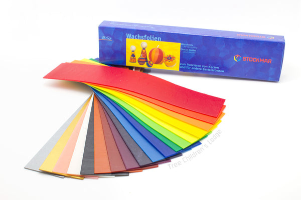 Stockmar Decorating Wax - 18 Colors @ 大樹孩子生活館             Tree Children's Lodge, Hong Kong - 1