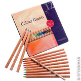 Color Giants Coloring Pencils - Set of 12, Waldorf Assortment @ 大樹孩子生活館             Tree Children's Lodge, Hong Kong - 1