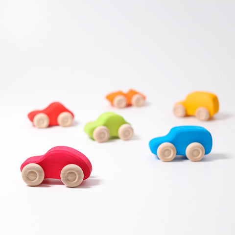 Colorful cars for toddlers