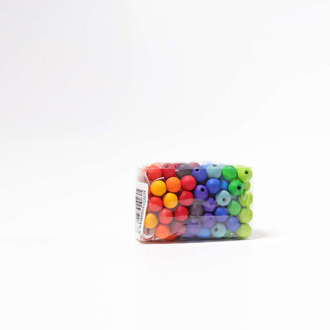 Colored Beads, 120 pcs