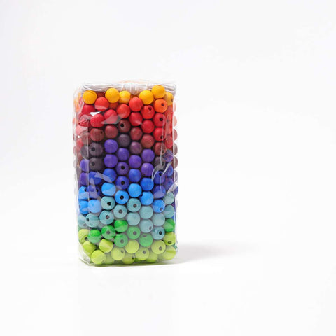 Colored Beads, 480 pcs