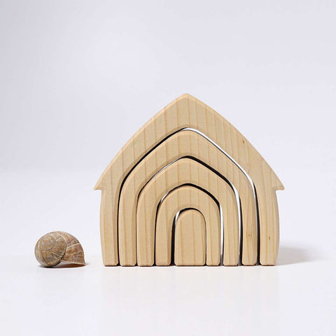 Wooden House (Natural)