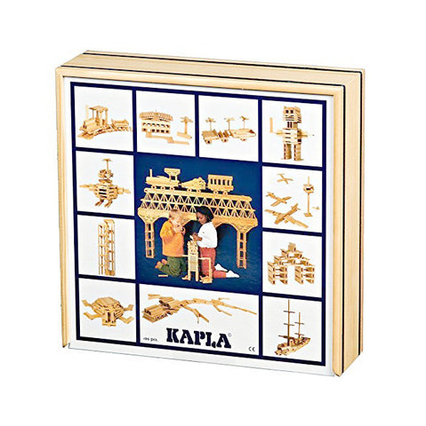 KAPLA Blocks - 100 pieces with wooden box @ 大樹孩子生活館             Tree Children's Lodge, Hong Kong - 1