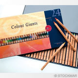 Color Giants Coloring Pencils - Set of 24 @ 大樹孩子生活館             Tree Children's Lodge, Hong Kong - 1