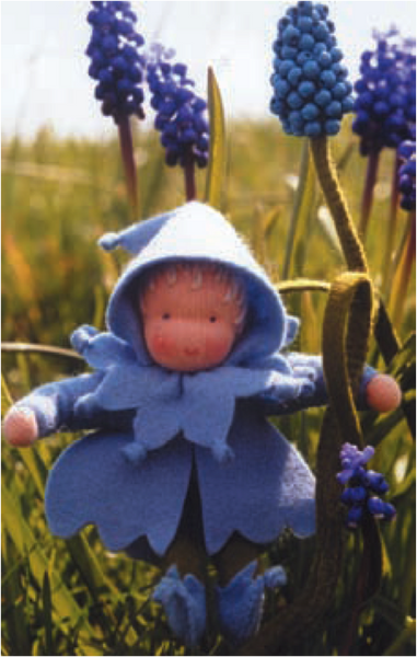 Flower Children Doll Kit - Grape Hyacinth @ 大樹孩子生活館             Tree Children's Lodge, Hong Kong - 1