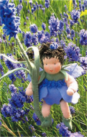 Flower Children Doll Kit - Lavender @ 大樹孩子生活館             Tree Children's Lodge, Hong Kong - 1