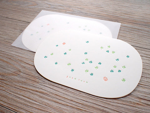 Letterpress Cards - Serendipity @ 大樹孩子生活館             Tree Children's Lodge, Hong Kong - 1