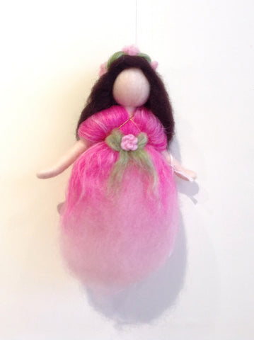 Needle Felted Mobile - Hanging Fairy @ 大樹孩子生活館             Tree Children's Lodge, Hong Kong - 4