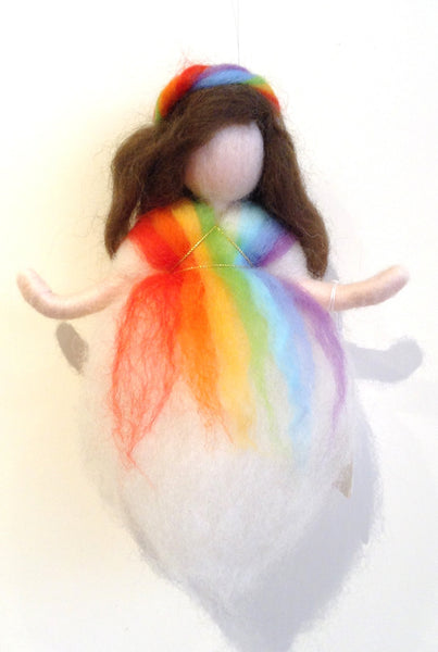 Needle Felted Mobile - Hanging Fairy @ 大樹孩子生活館             Tree Children's Lodge, Hong Kong - 3
