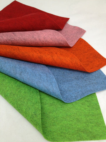 Pure wool Patch-felt sheet (20 x 30cm)
